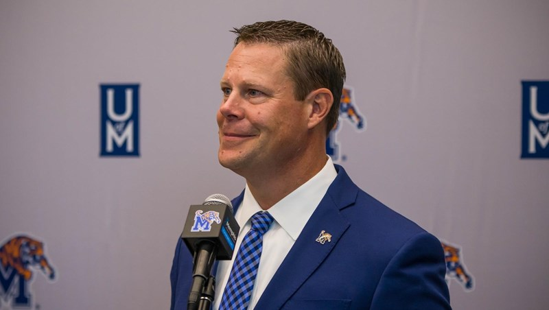 Memphis Director of Athletics Laird Veatch introductory press conference transcription